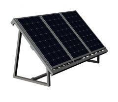 modern designed small scaled solar panel designed 3d model .3dm format
