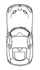 srt viper plan car view.dwg drawing