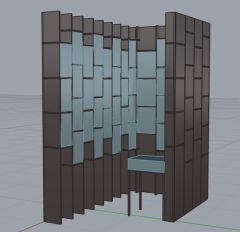 Store scaffold 3dm model
