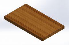 table plate.SLDPRT file