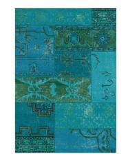 Blue brocade carpet sketchup