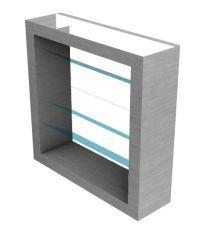 Tall glass ventilation design 3d model .3dm format