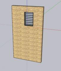 moderately designed old designed ventilation 3d model .skp format