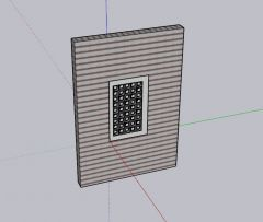 large designed ventilation with modern look 3d model .skp fromat