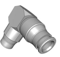 EQUAL ELBOW Autocad 3d file