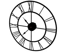 Simple aesthetically appealing wall clock 3d model .3dm format