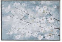 White flowers dwg drawing